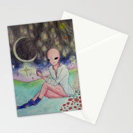 Space Goals Stationery Cards