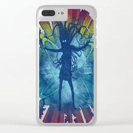 cthulu gogo dancer Clear iPhone Case