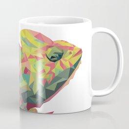 Chamelon Low Poly Art Print Coffee Mug