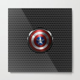 Captain Roger Shield Metal Print