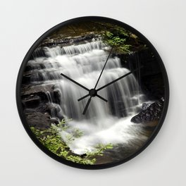 Waterfall Landscape Wall Clock