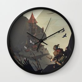 Old outpost Wall Clock