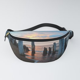 Pillars of the Past at Dusk Fanny Pack