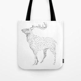 Deer dots Tote Bag