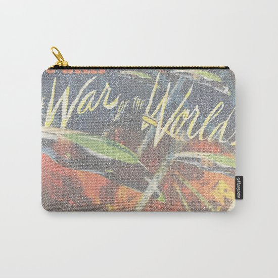 War Of The Worlds Script Print Carry-All Pouch