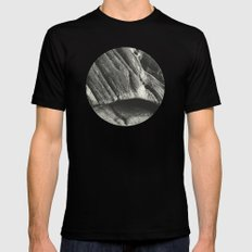 Silent Stone A.D. IV MEDIUM Mens Fitted Tee Black
