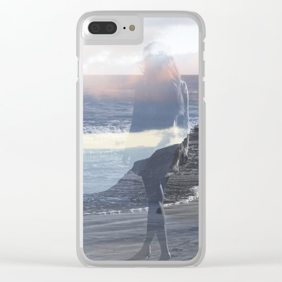 Into the Wave Clear iPhone Case