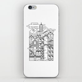 KYOTO iPhone Skin