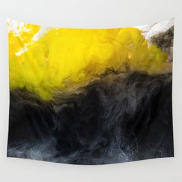 Vivid Mix Of Ink Clouds Wall Tapestry
