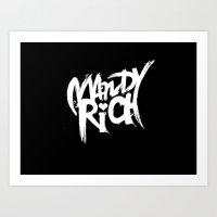 Mandy Rich Art Print