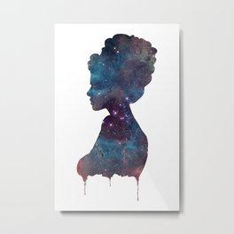 Femme Nebula Metal Print