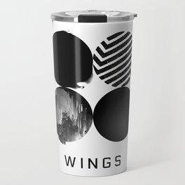 BTS Wings Album Cover Travel Mug