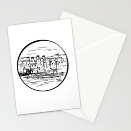 Wales castle Stationery Cards