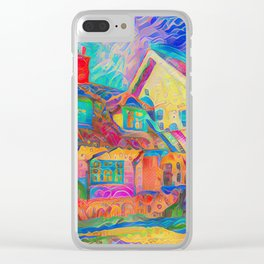 Thorpeness in Gingerbread Clear iPhone Case