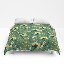 Dandelion Day Comforters