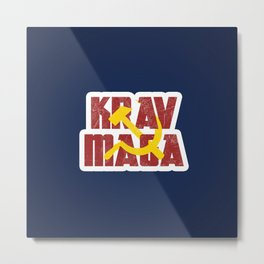 Krav Maga Russia Soviet Union Metal Print