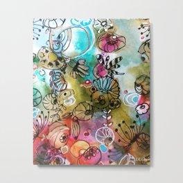 Colorful flowers II Metal Print