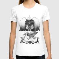 gemini T-shirts featuring Gemini by Deborah Panesar Illustration