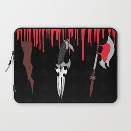 The Slayer Weapons Laptop Sleeve