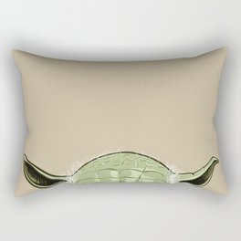SHORTYoda [Bege] Rectangular Pillow