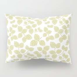 Modern Pinecone in Olive Pillow Sham