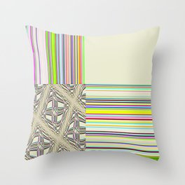 Re-Created Southern Cross X by Robert S. Lee Throw Pillow
