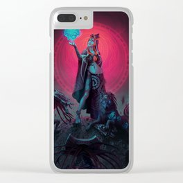 Fusing Shadow Into Light Clear iPhone Case