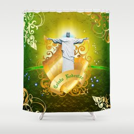 The Cristo Redentor Shower Curtain