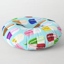 Pill Popper Floor Pillow