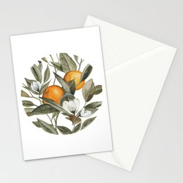 Orange Blossom Stationery Cards