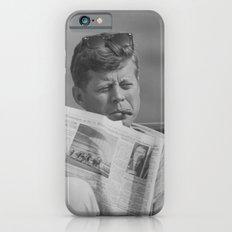 JFK Relaxing Outside iPhone 6s Slim Case
