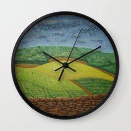 Heritage Study Wall Clock