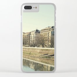 Along The River Clear iPhone Case