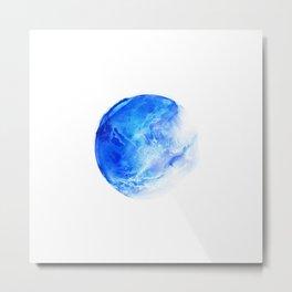 Blue Planet Metal Print