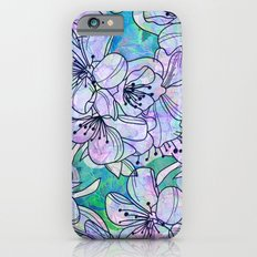 Over and Over Flowers Slim Case iPhone 6s