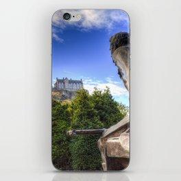 Scots American Memorial And Edinburgh Castle iPhone Skin