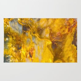 Fire Crystal - gemstones, photography #society6 Rug