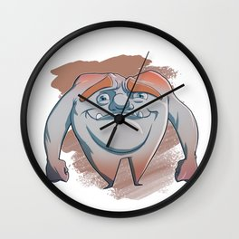 Alfred Montgomery Molar Wall Clock