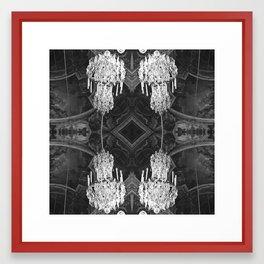 Versailles Chandelier Framed Art Print
