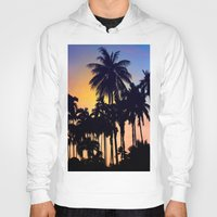 palm tree Hoodies featuring palm tree by mark ashkenazi