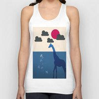 africa Tank Tops featuring Africa by Mehdi Elkorchi