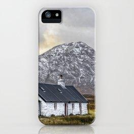 Black Rock Cottage  Glencoe iPhone Case