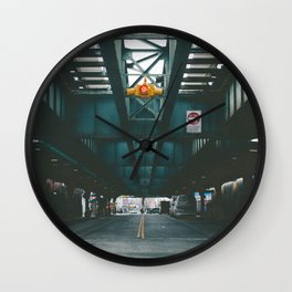 Under the M Wall Clock