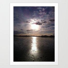 Sunset at Strandhill, Co.Sligo, Ireland Art Print