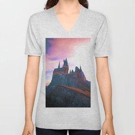 Hogwarts School of Witchcraft and Wizardry Unisex V-Neck