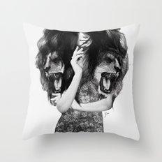 Lion #1 Throw Pillow
