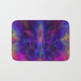 Born of Lotus Abstract Art Bath Mat