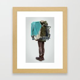 New Fashion Framed Art Print