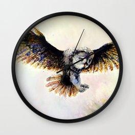 Dark owl Wall Clock