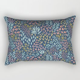 Jungle Garden Rectangular Pillow
